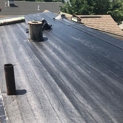 flat roof leak repair long island